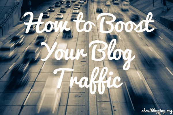 Boost your blog traffic
