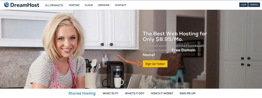 DreamHost - Best Web Hosting Companies