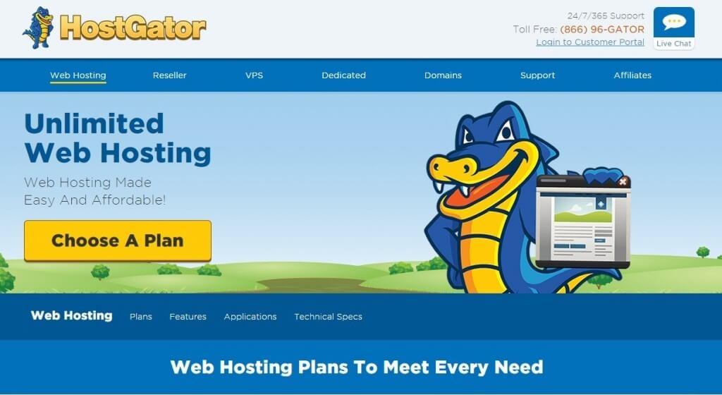 Hostgator - Best Web Hosting Companies
