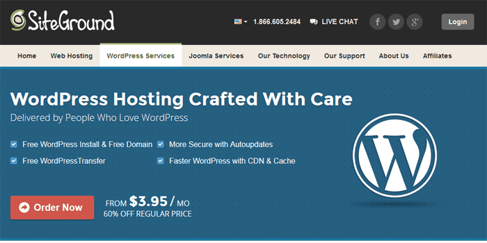 Siteground - Best Web Hosting Companies