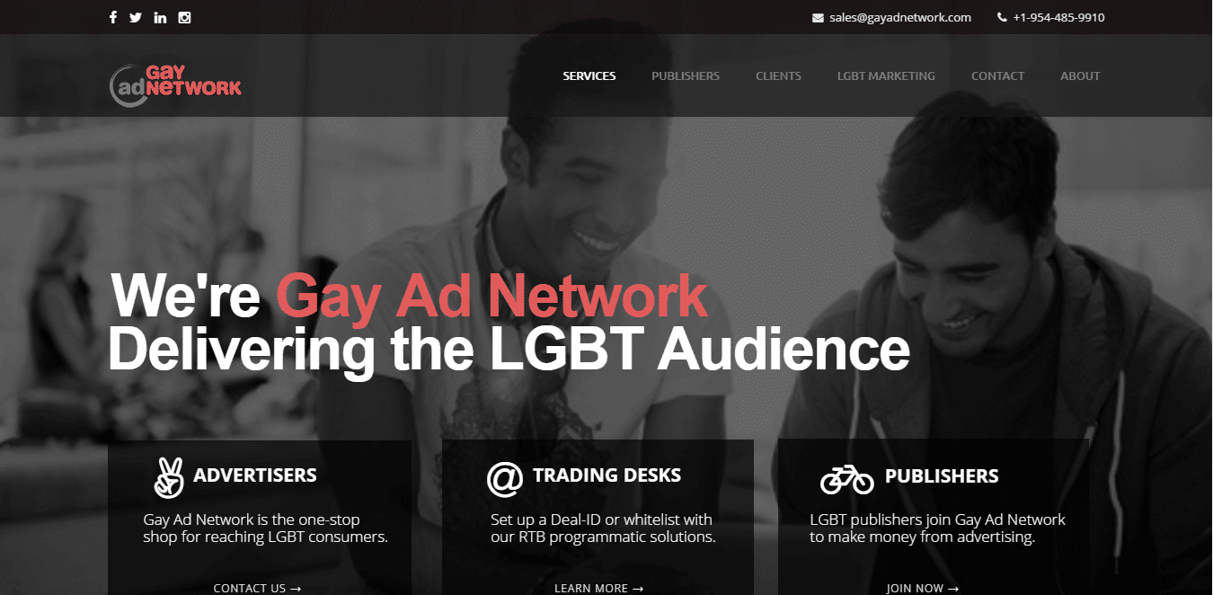 Image result for gay ad network