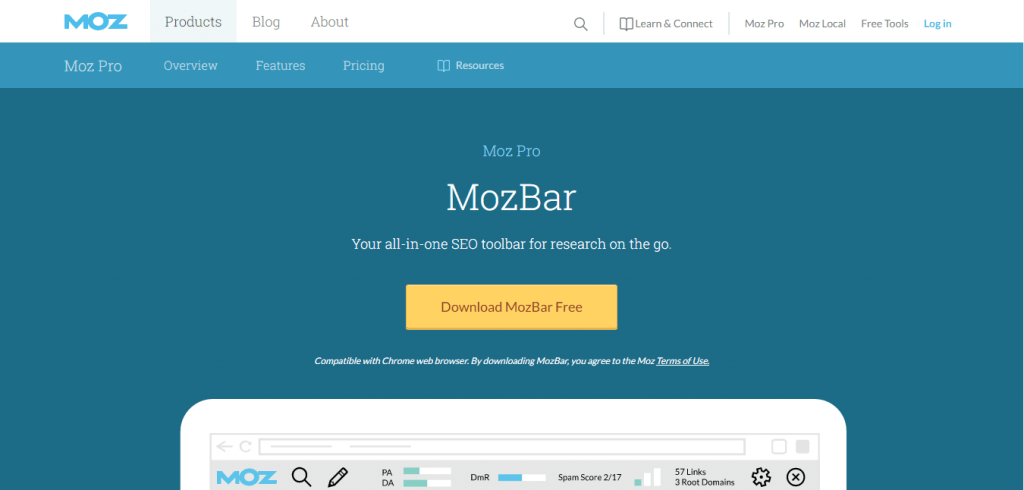 MozBar Review