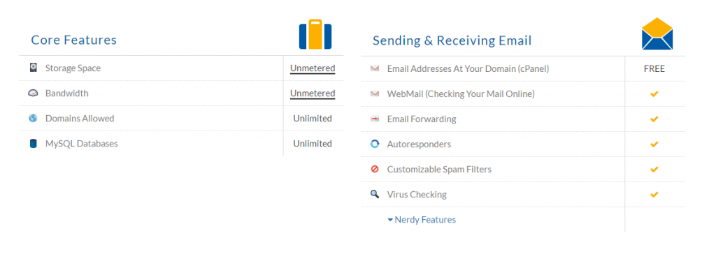 eHost Hosting Unlimited Domains and Emails