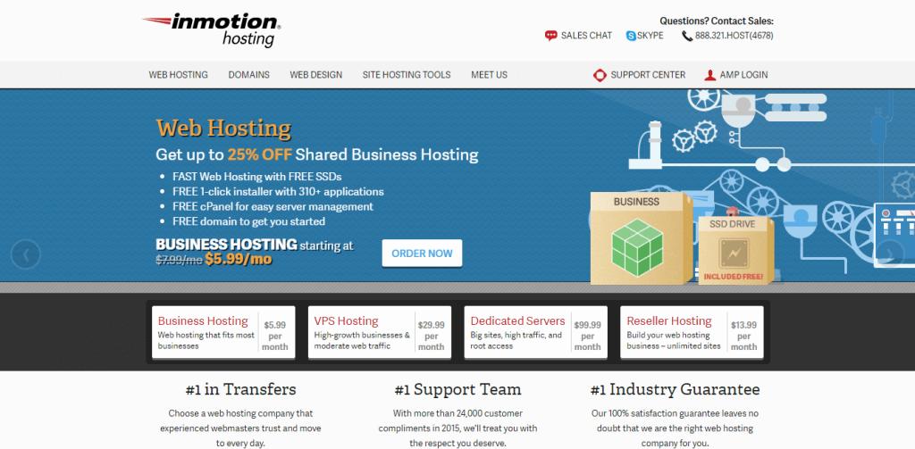 inmotionhosting review