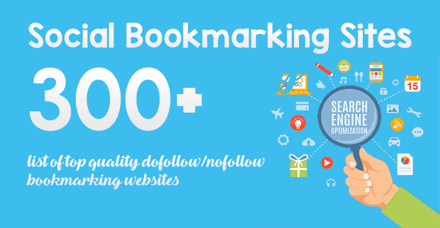 300+ Free Social Bookmarking Sites List with High PR