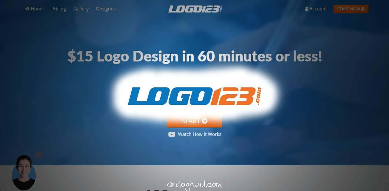 Logo123 Review : How to Get a FREE Logo Designed for your Blog or Website
