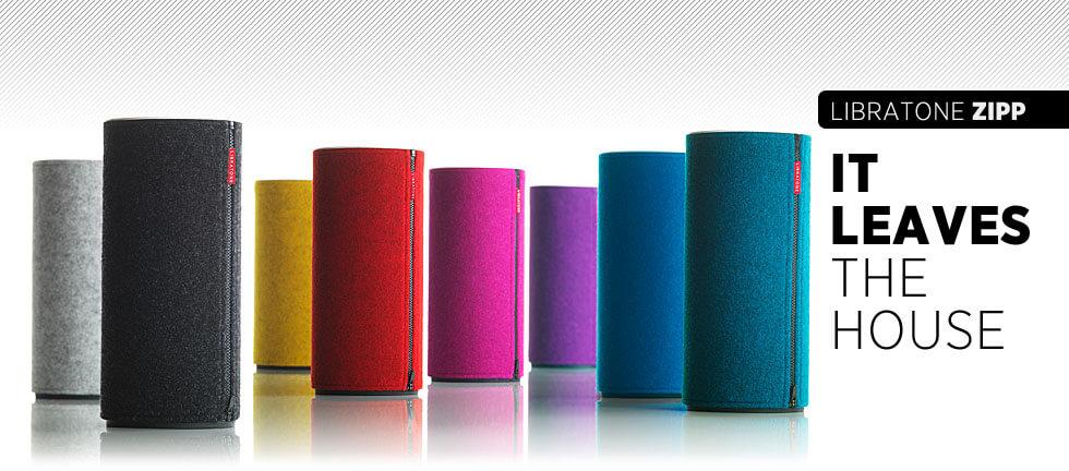 Libratone ZIPP Bluetooth Speakers