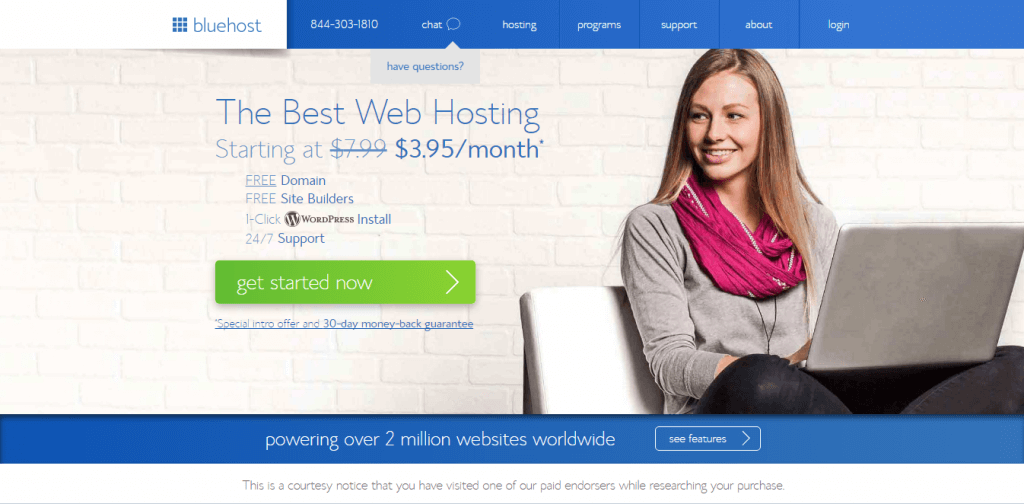 Best Web Hosting Services bluehost