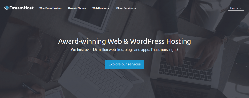 Best Web Hosting Services DreamHost