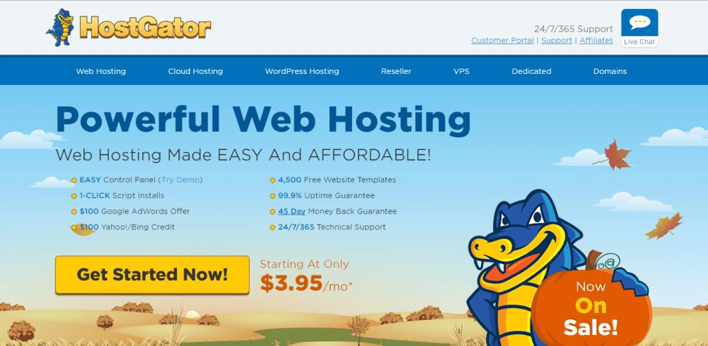 Best Web Hosting Services Hostgator