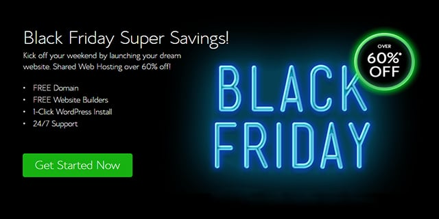 Bluehost Black Friday Deal 2020 : Just $2.95 A Month For 36 Months [LIVE]