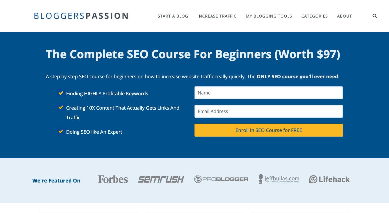 Bloggerspassion design