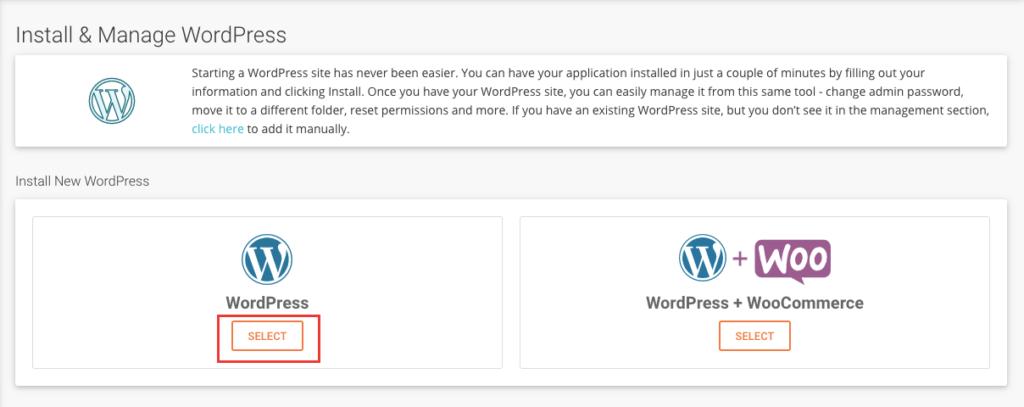 easy steps to Install wordpress