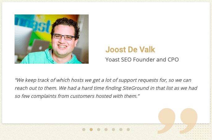 Siteground yoast review
