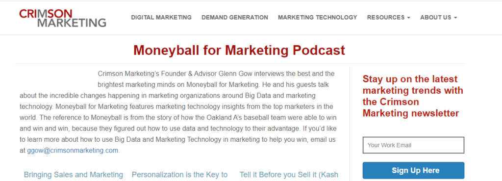 Moneyball for Marketing