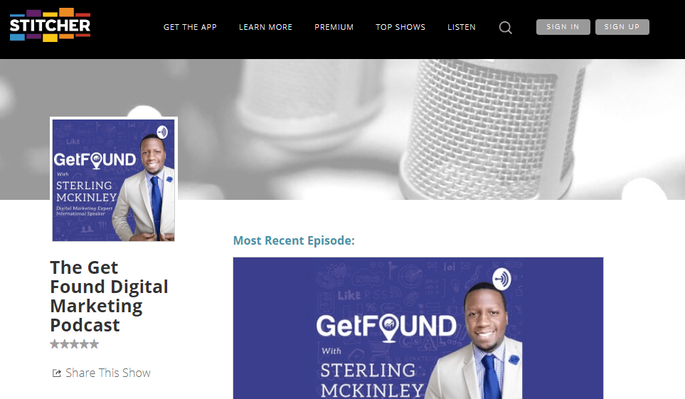 get found Digital Marketing podcast