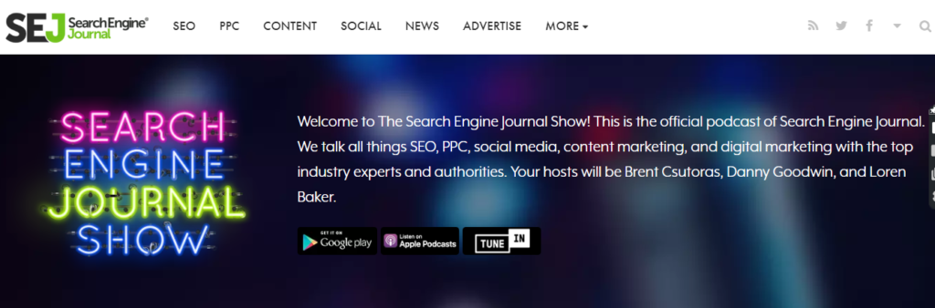 Search Engine Nerds Podcast
