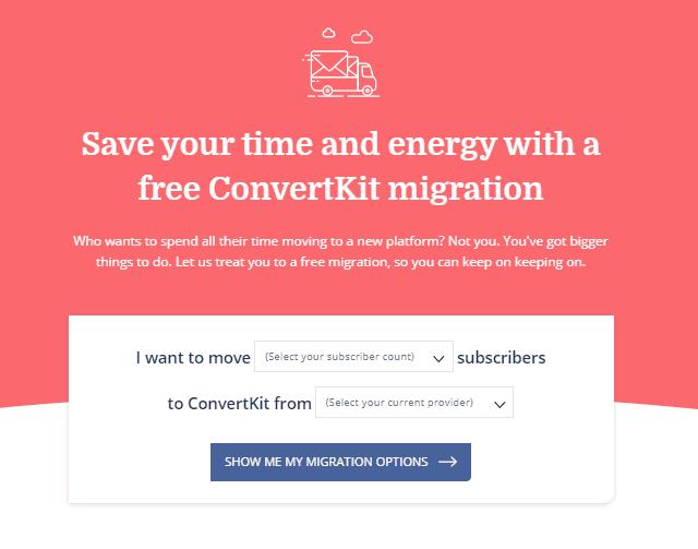 convertkit free migration
